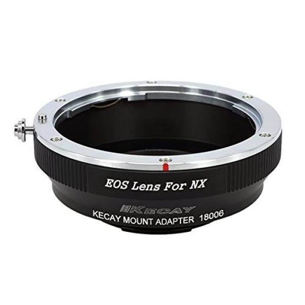 KECAY EF-NX Lens Mount Adapter for Canon EOS EF EF-S Lens to Samsung NX Camera, NX1, NX3000, NX2000, NX300M, NX300, NX1000, NX210, NX200, NX30, NX20, NX5, EOS to NX