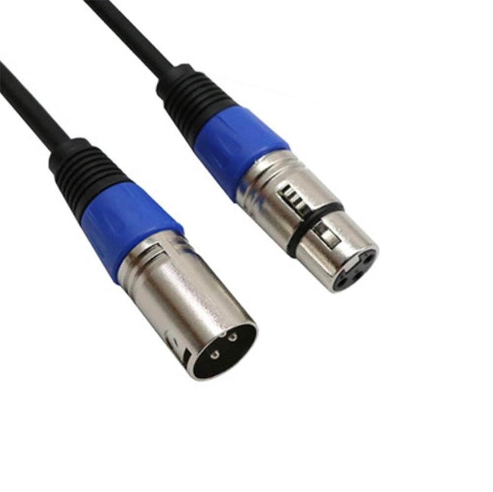 Jayaskyie 0.5 M XLR Mikrofon Kabel Memimpin Laki-laki Ke Perempuan Baris Stereo Adaptor Audio