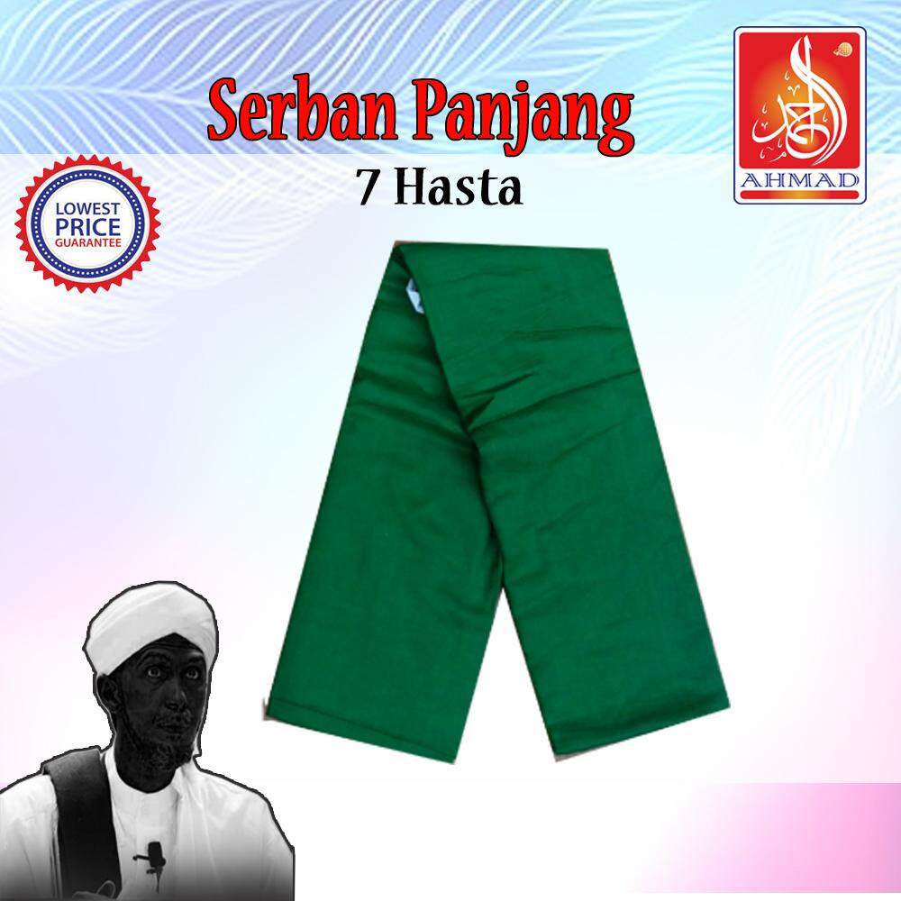 Serban Tujuh (7) Hasta (panjang) White/green/black (kosong) By Ahmad2u.