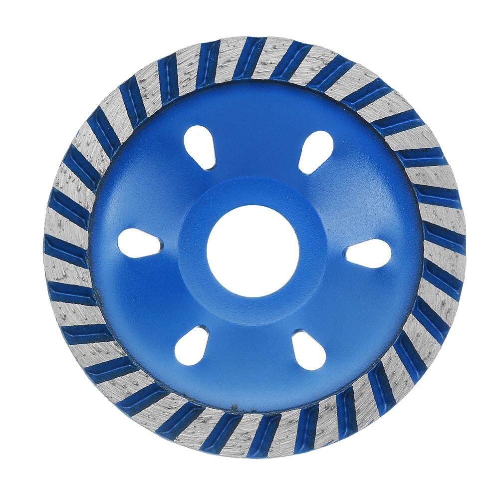 Drillpro 100x22.23 mét Xanh Dương Lưỡi Cưa Kim Cương Đá Mài Cắt Bê Tông Đá Hoa Cương