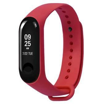 ราคาถูกที่สุด Fashion Anti-Lost Silicone Replacement Wristband Strap Bracelet Watchband Smart Band Accessories for Xiaomi Xiao Mi Band MiBand 3 ...