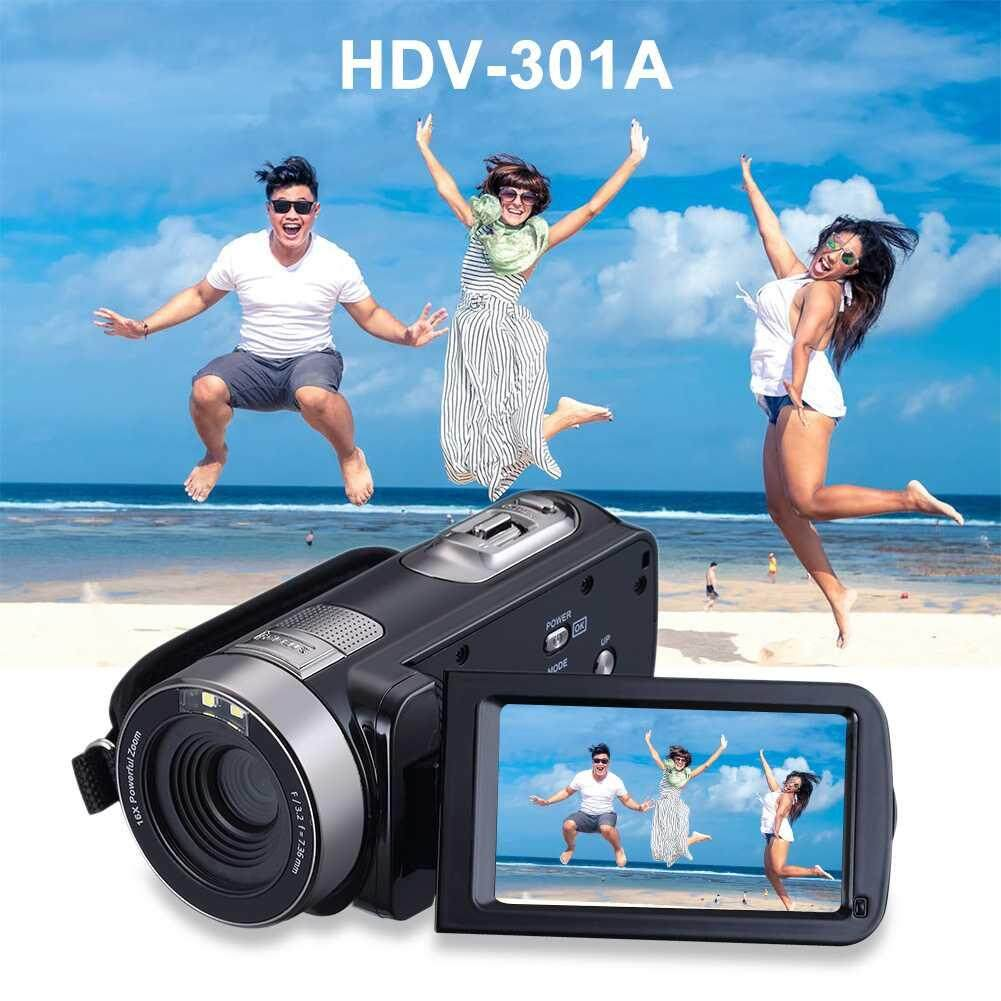 Hình ảnh LITAO 1080P 24 MP3.0 Inch LCD Digital Camera Camcorders HD Recorder EU Plug