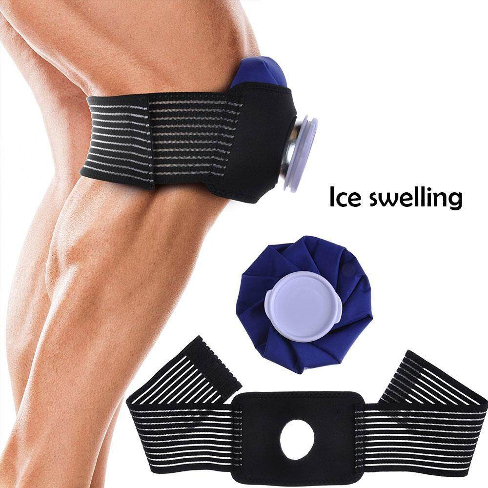 Hình ảnh leegoal Protector Strap Ice Cold Pack Reusable Ice Bag Hot Water Bag For Injuries - intl