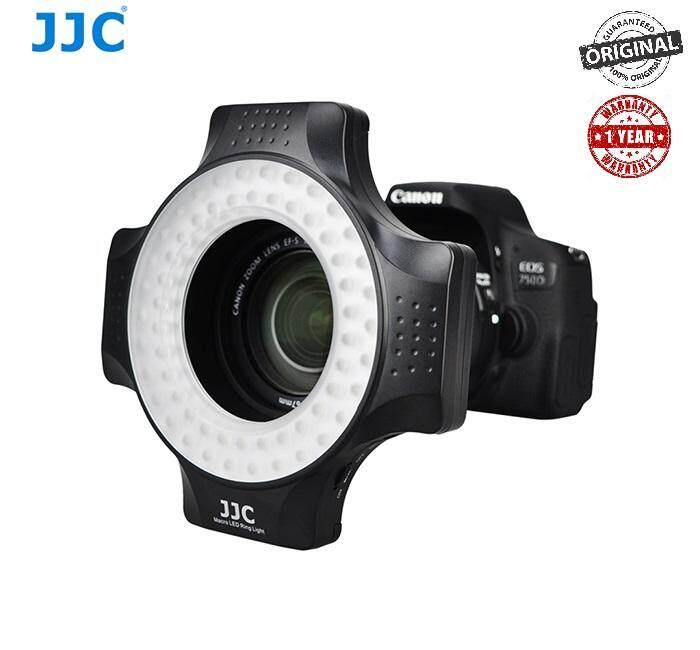 JJC LED-60 Macro Ring Flash LED Light for DSLR Camera (With Adaptor Ring)