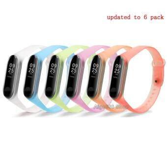 Harga preferensial 12 Warna Tali Gelang untuk XIAMI MI Band 3 Mi Band 3 Pelacak Silikon terbaik murah - Hanya Rp54.315
