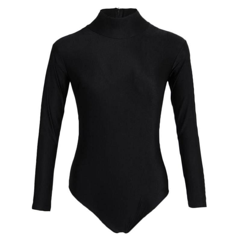 Nơi bán MagiDeal Unisex One Piece Swimsuits Zip Back Rashguard Long Sleeve Bathing Suits M