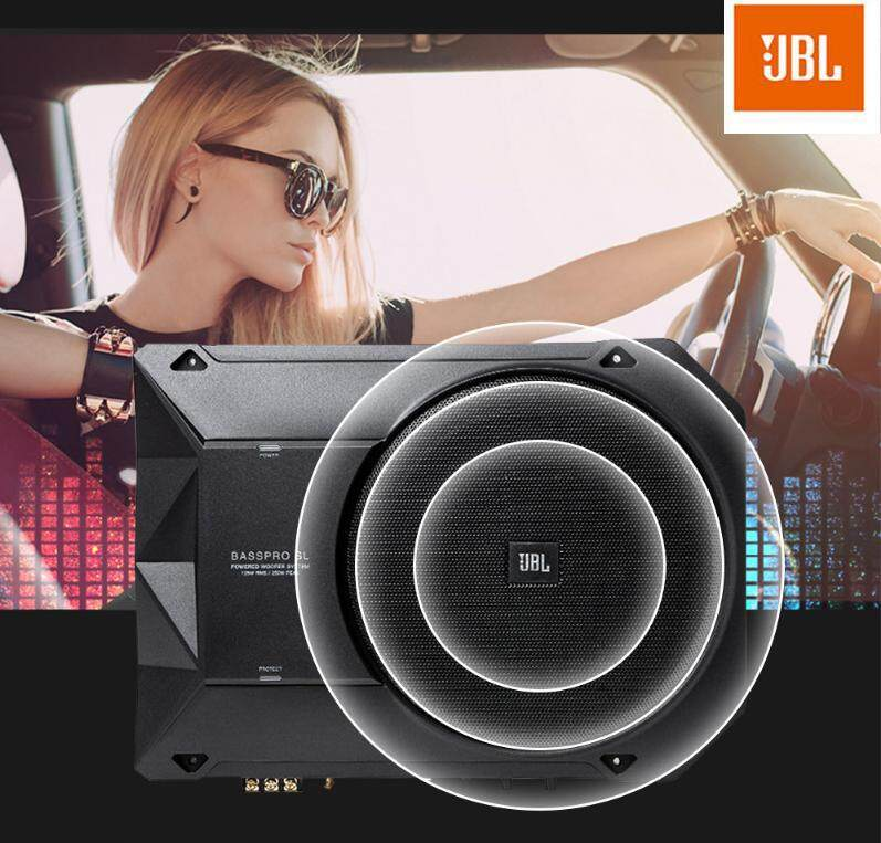 JBL Basspro SL Car Active Speaker Ultra Thin 8-inch 125W Subwoofer Malaysia