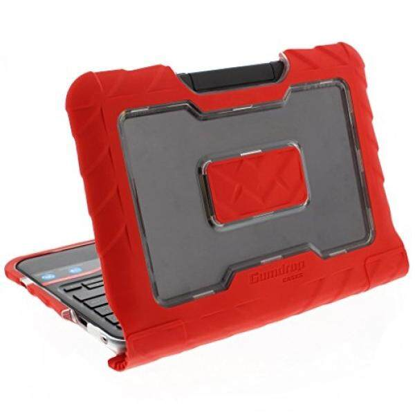 Gumdrop Case S Droptech Case untuk Lenovo N22 dan N21 Chromebook 80 Mg 80SF 80VH Guncangan Kasar Menyerap Sarung, merah-Internasional