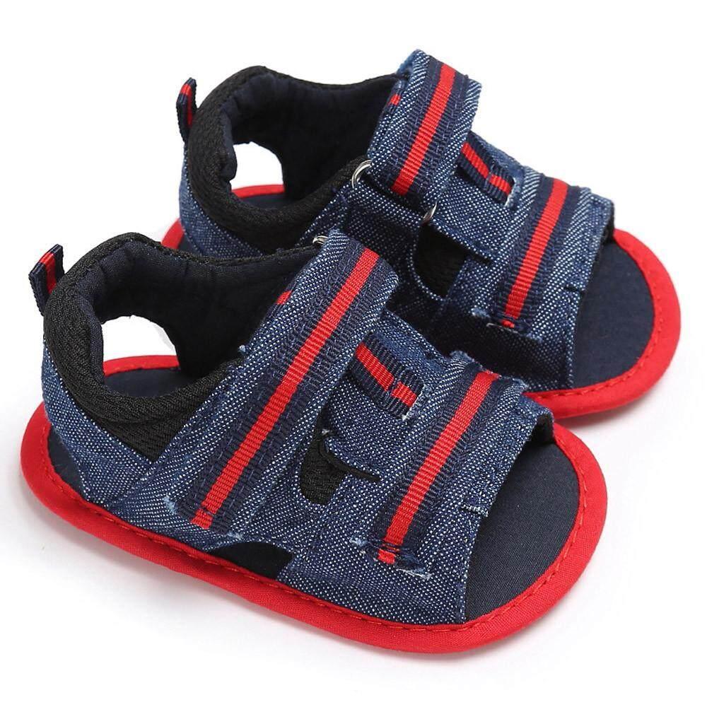 Bayi Yang Baru Lahir Bayi Perempuan Anak Laki-laki Musim Panas Lembut Tunggal Balita Anti Selip Sepatu Sandal-Internasional