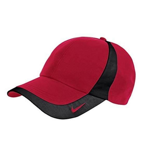 3799082b568 Nike Original Dri-FIT Lightweight Swoosh Embroidered Baseball Cap - Red  Black - intl