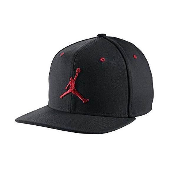 889ae9b4d6b ... discount code for nike mens air jordan jumpman snapback hat black gym  red 619360 016 0dc08