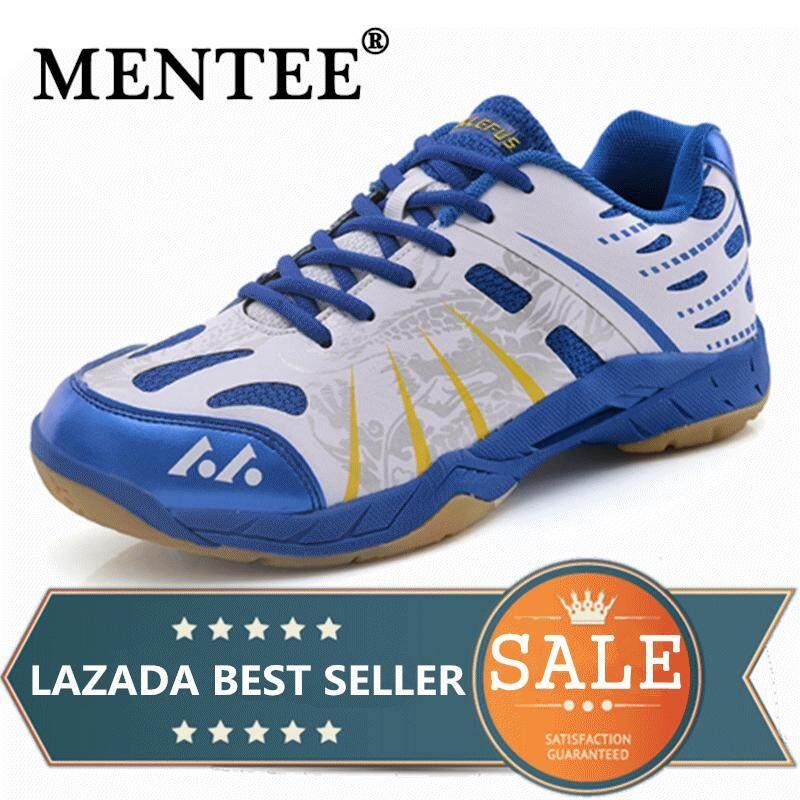 Mentee Pria dan Wanita Profesional Sepatu Bulu Tangkis Sepatu Olahraga Sneaker Tenis Sepatu Plus Ukuran 36-45