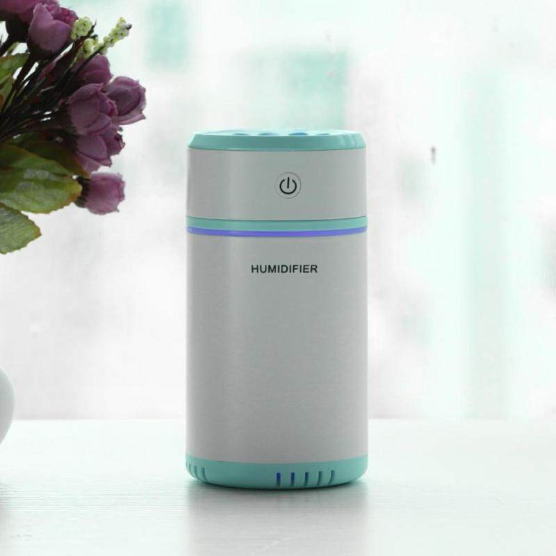 Bảng giá minxin Portable Ultrasonic Humidifier Diffuser 7 Colors LED Light Car Office with USB Cable Blue
