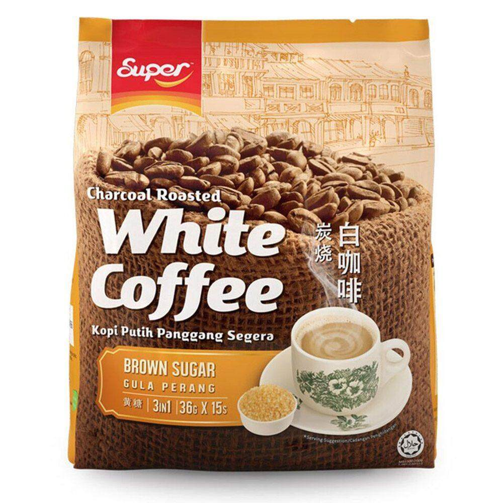 Qdz Shoppe New Arrival Cafe Up Ginseng Cni Kopi Sugar Free Super Charcoal Roasted 3 In 1 White Coffee Brown Item No E01