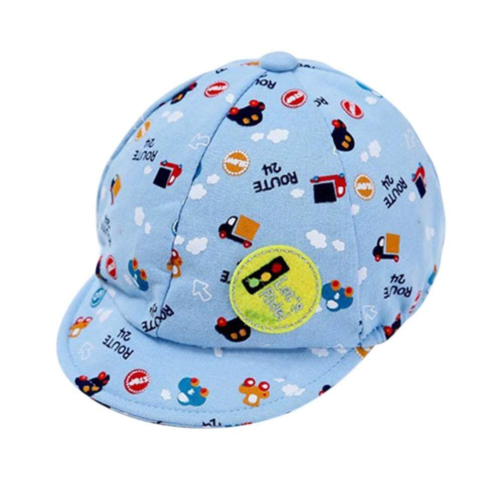 Anak Bayi Snapback Perempuan Laki-Laki Cetak Kartun Topi Balita Bayi Mobil Kecil Baret Bisbol-Intl By Miss Lan.