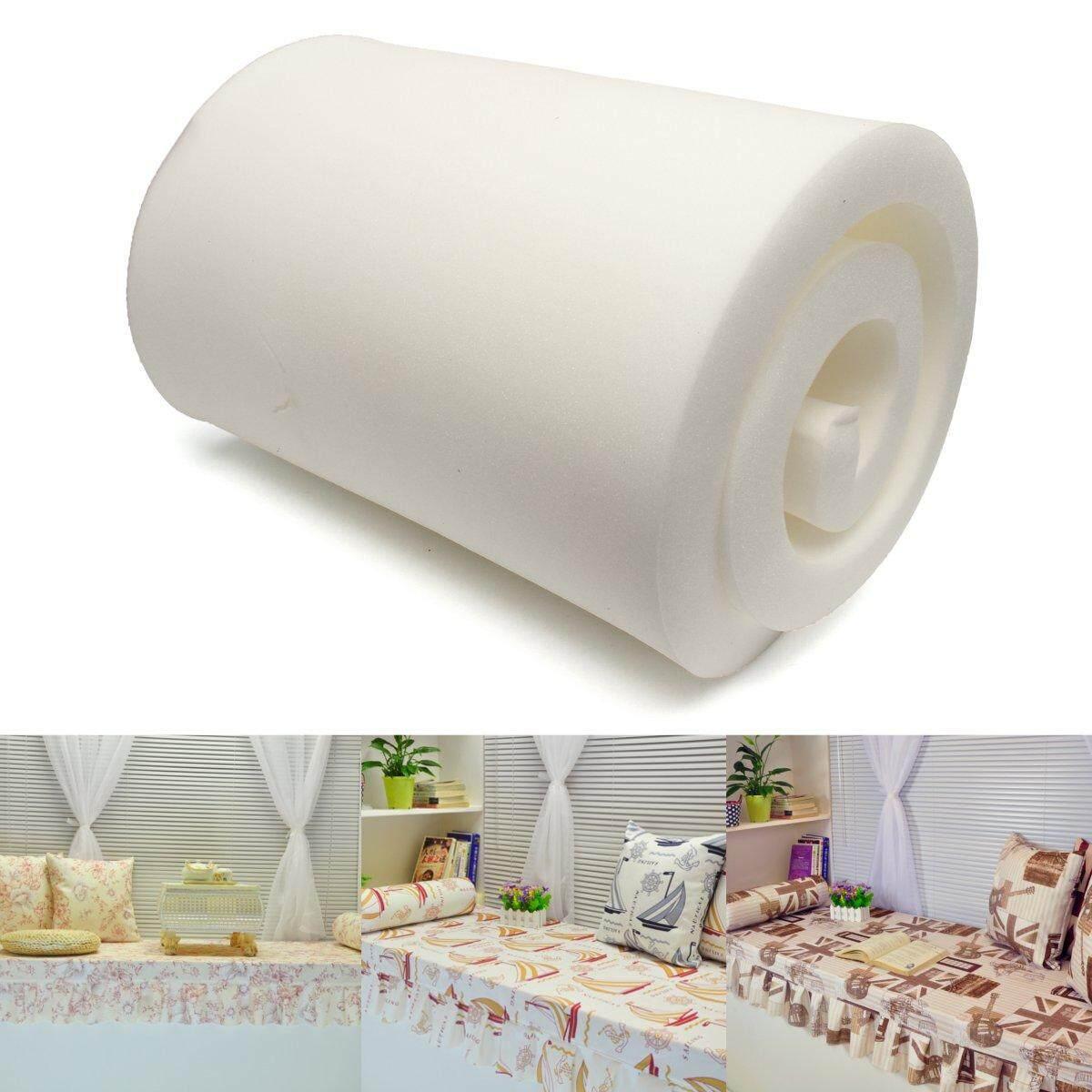 79X24 Upholstery White High Density Foam Sofa Cushion Rubber Sheets Seat Pad