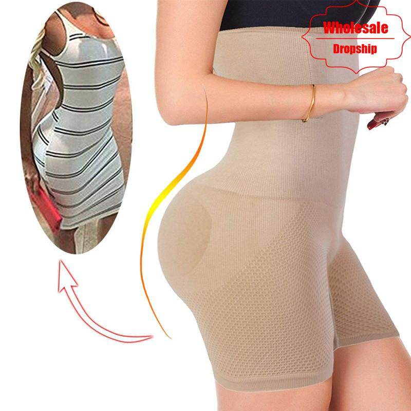 08937aff9e NINGMI Sexy Butt Lifter Women Slimming Shapewear Tummy Control Panties High  Waist Trainer Body Shaper Boyshort