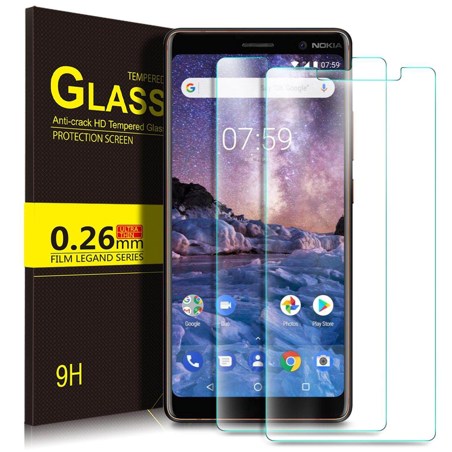 Fitur Kugi Premium Tempered Glass Screen Protector For Nokia 7 Plus