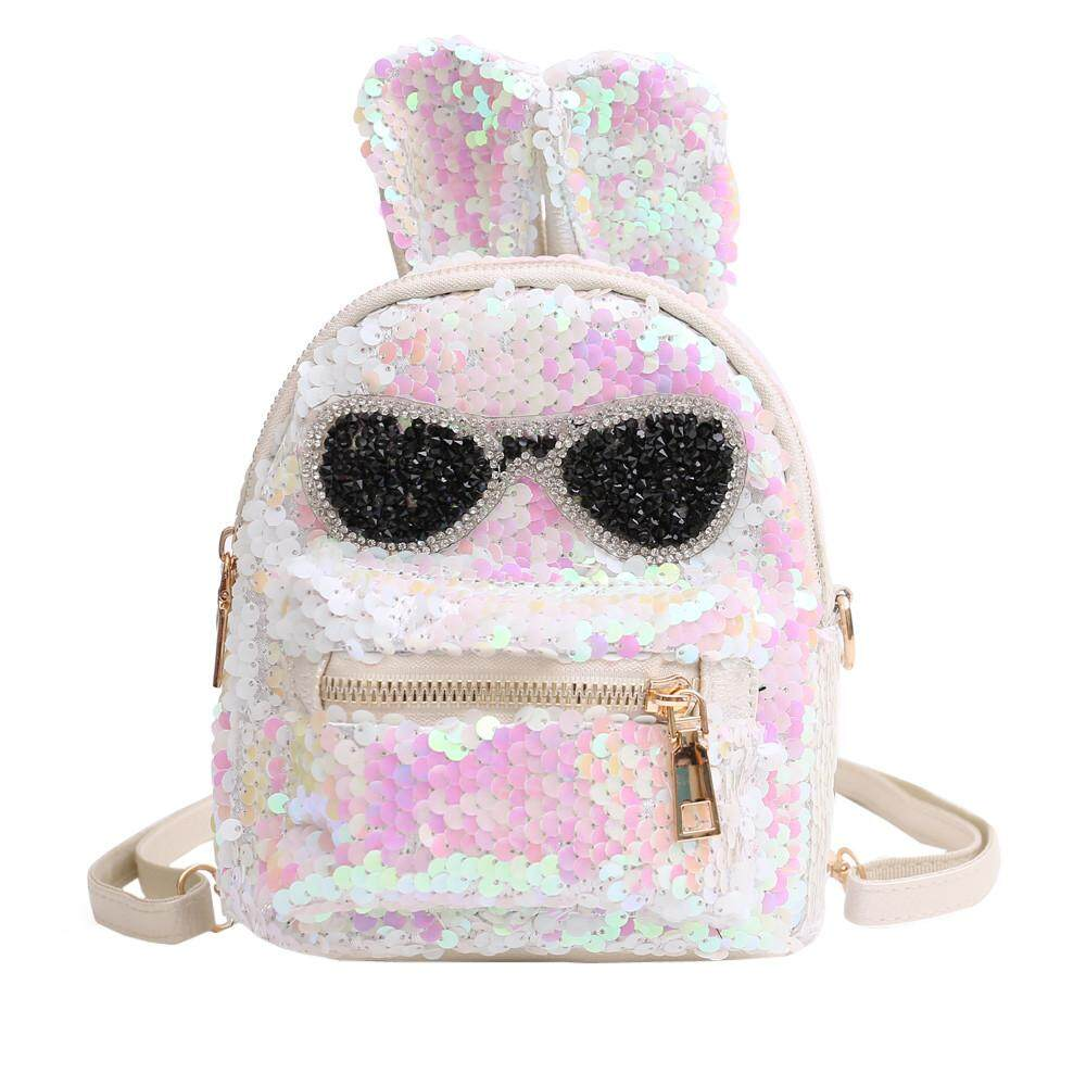 115ae9825e0 Fashion Girls Sequins Shoulder Bag Student Children Fashionable School Bag  Travel Backpacks