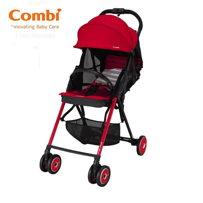 Combi Stroller F2 Plus AF Baby Super Lightweight Burning Red 165 Degrees New