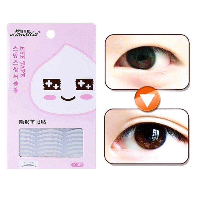 BZY 120 Pairs Natural Invisible Fiber Double Eyelids Tape Stickers - Instant Eye Lift Without Surgery Philippines