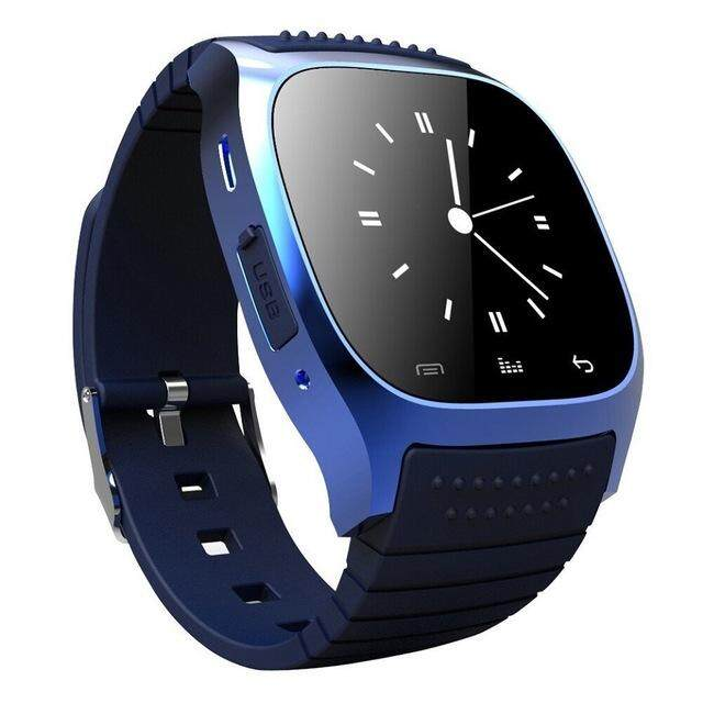 Bluetooth Touch Screen Smart Wrist Watch Fashion Leisure Waterproof Multifunction Smartwatch for Android/IOS Samsung iPhone HTC Phone
