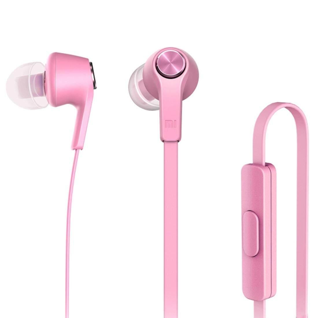 Asli Xiaomi HSEJ02JY Edisi Dasar Piston In-Ear Earphone dengan Stereo Bas dengan Remote dan