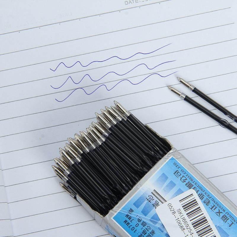 100Pcs/Set 0.7mm Ballpoint Pen Refill Black Red Blue 2 Colors Office Supplies Escolar Writing Pen High Quality Mb Roller Pen #blue