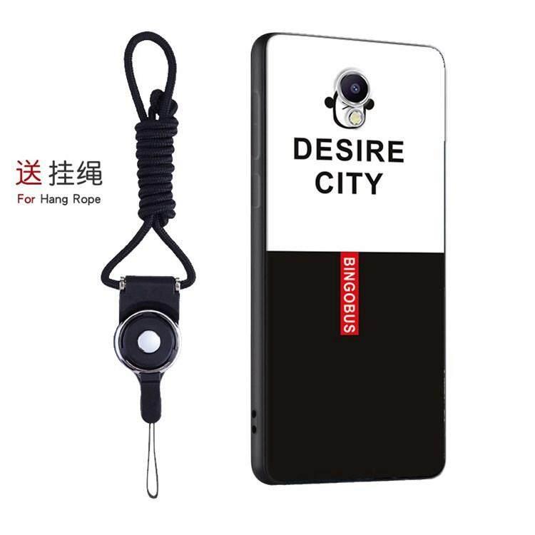 Kucing Lucu Lembut Case untuk Meizu M5 Catatan dengan String Hadiah Casing