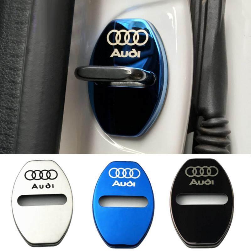 Auto Stainless Steel Door Lock Cover Audi A4L A6L Q5 A3 Q3 Q7 TT A5 Lock Cover