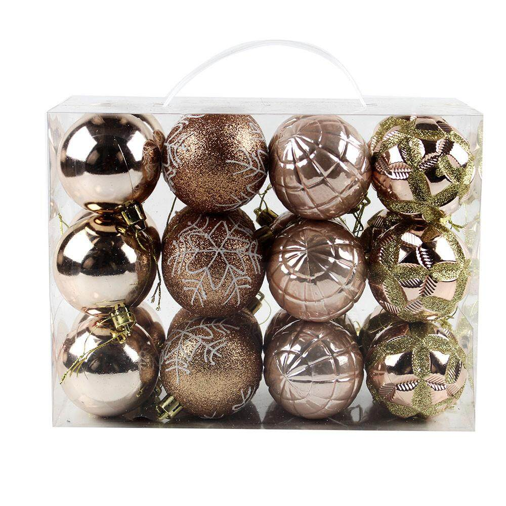 60mm Christmas Xmas Tree Ball Bauble Hanging Home Party Ornament Decor
