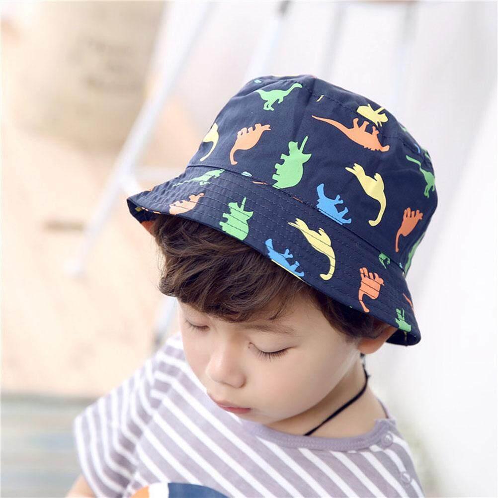 Perlindungan Matahari Topi Ember Nelayan Topi Anti Silau Topi Pantai Topi Nelayan Anak Anak Topi Bundar S Topi Dinosaurus (Kepala Ukuran 48 Cm)