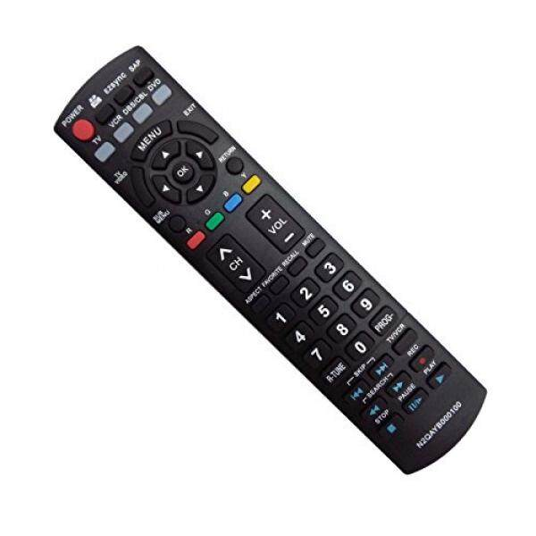 Vinabty Baru Pengganti Remote Cocok untuk Panasonic LCD Plasma TV TH-50PZ700U TH-50PZ77U TH-50PE8U TH-50PX80U TH-50PX80UA TH-50PZ80U, TH-50PZ80UA TH-58PZ700U TH58PZ700 PT-50LCZ7 PT-56LCZ7 (N2QAYB000100)-Intl