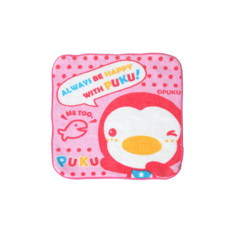 Puku Baby Handkerchief 21*21cm (Pink)