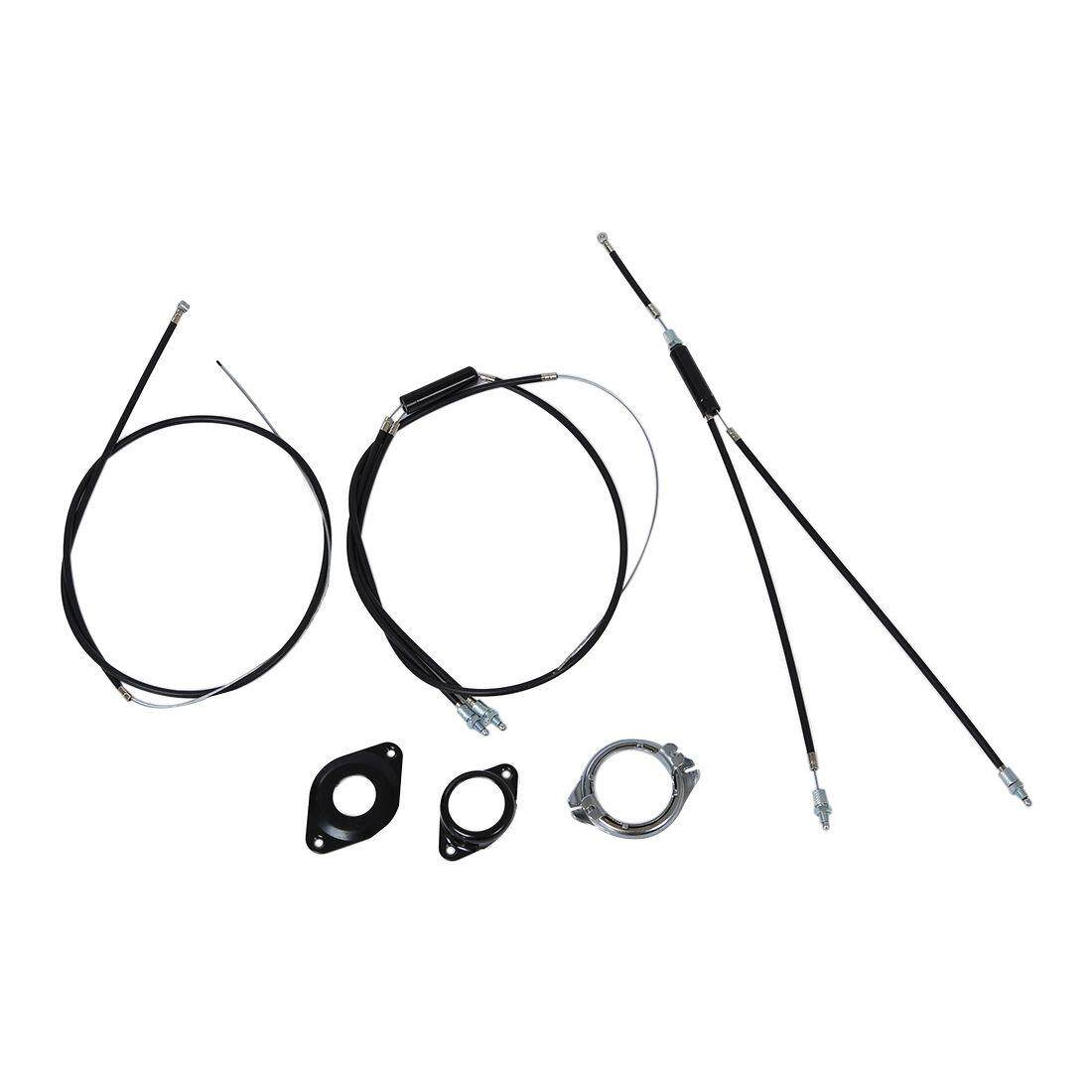 BMX brake cable (front + rear) Extra Long gyro rotor spinner