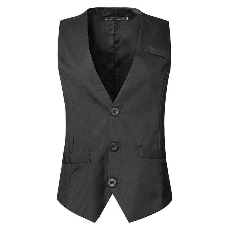 Jayoyi มาใหม่ล่าสุดเสื้อสำหรับบุรุษเข้ารูปพอดีเสื้อสูทผู้ชายชายเสื้อกั๊ก Homme สบายๆอย่างเป็นทางการแจ็คเก็ตธุรกิจ By Jayoyi.