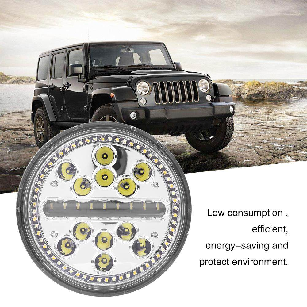 Tail Light Assembly For Sale Lens Online Brands Prices Wiring Harness Clips 1978 Cj 1 Pair 7 Inch 60w Car Led Headlight Round Headlamp Jeep Wrangler Jk Tj