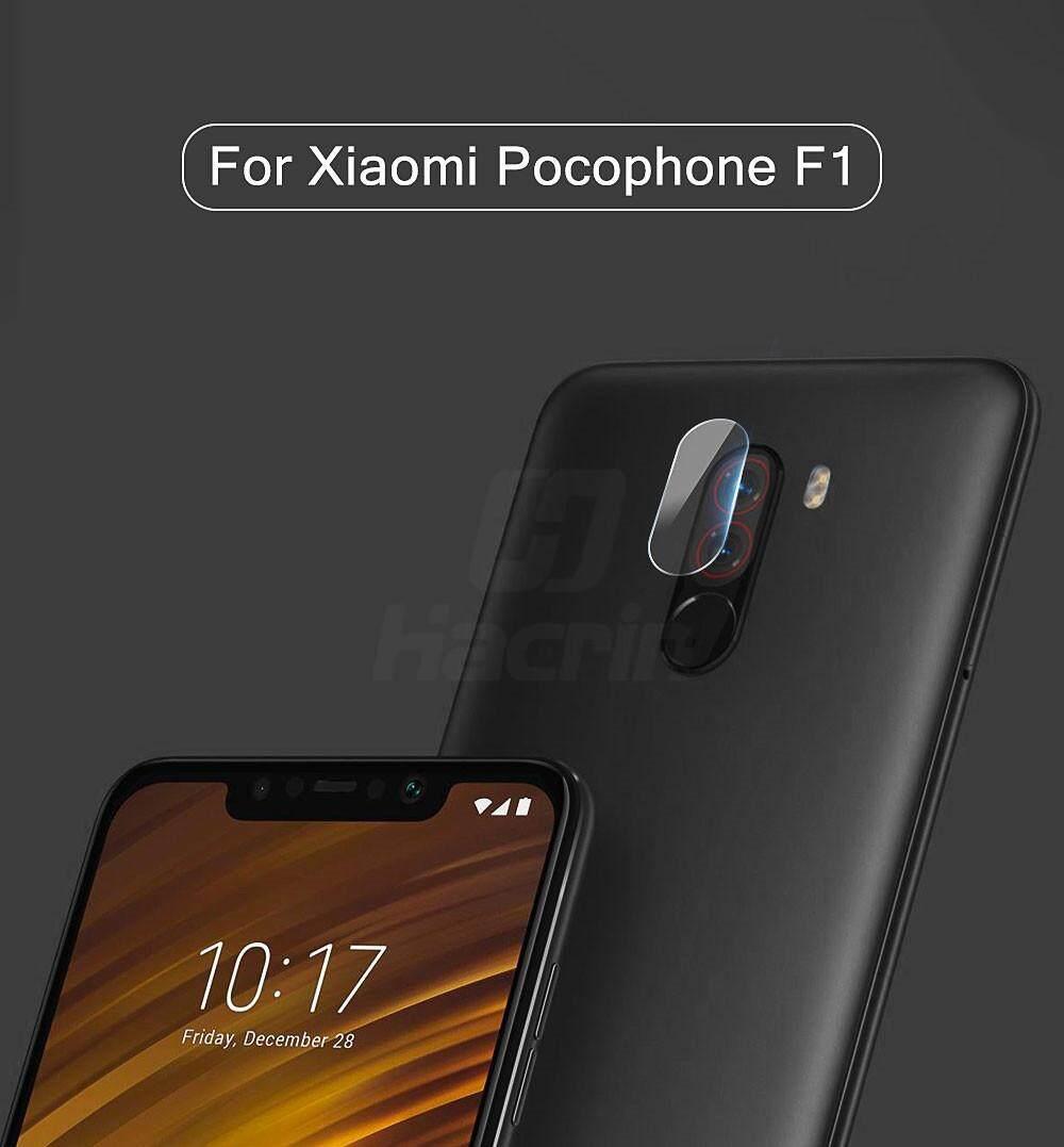 Bening 9 H Kaca Antigores Kembali Ponsel Kamera Pelindung Lensa Film untuk Xiaomi Pocophone F1/Poco F1