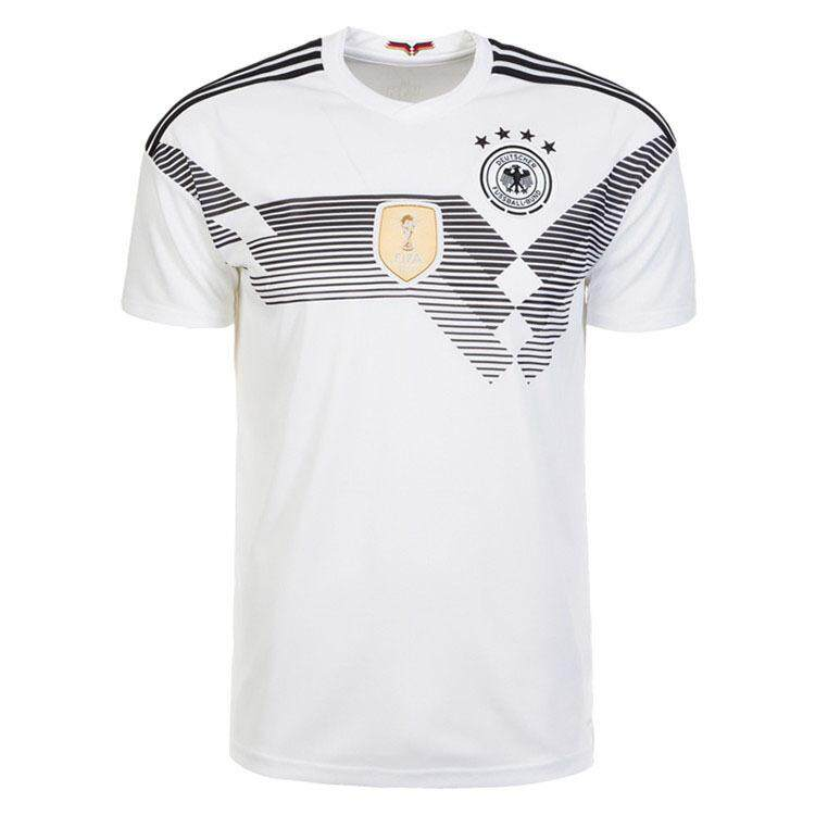 af0232714df Germany Jersey Team 2018 World Cup Football Uniform Short-sleeved T-Shirt