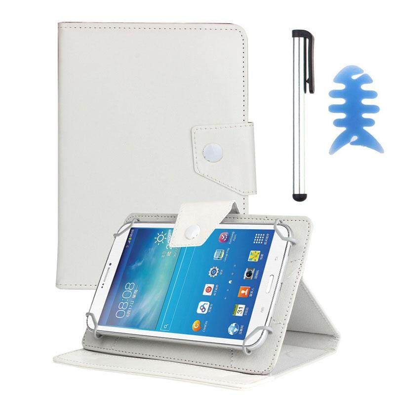Pelindung Kulit Universal Case untuk Alcatel OneTouch Pop 7 Tablet + Pena WH