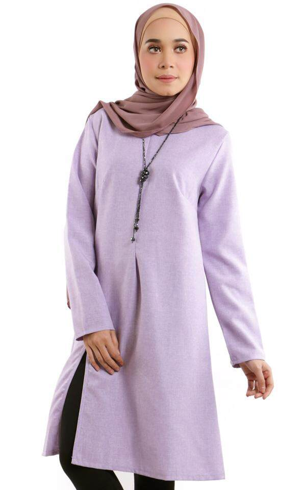 JF Fashion Abelie Front Slit Long Tunic F390