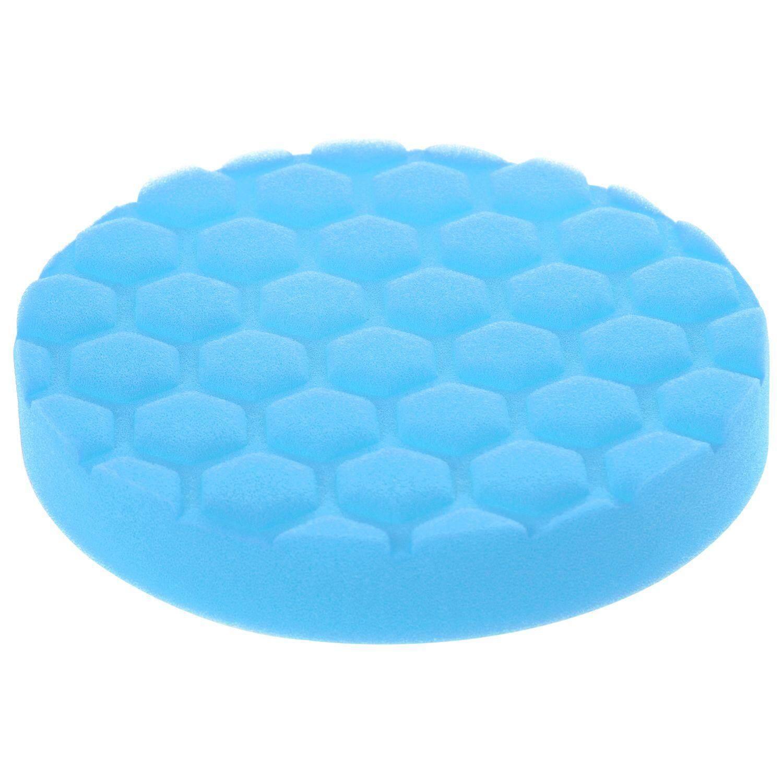6inch (150mm) Blue Polishing Pad Dual Action Polishing Pad Sponge Buff Polishing Pad Kits For Car Polisher Pack Of 5pcs--Light Polishing/finishing Pad By Yomichew.