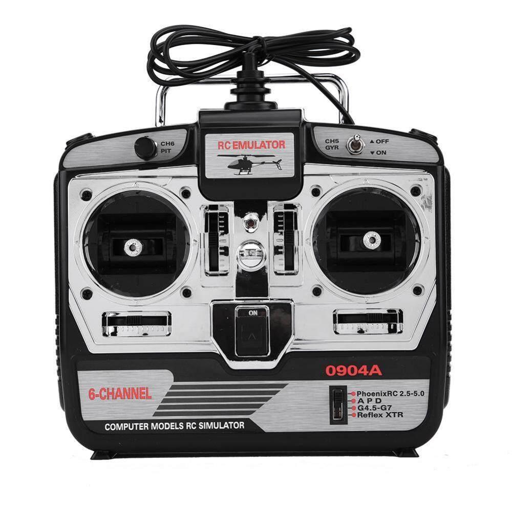 Shanyu 6CH Drone RC Simulator dengan Disk untuk Phoenix 5.0 G7.0 RC Multi-