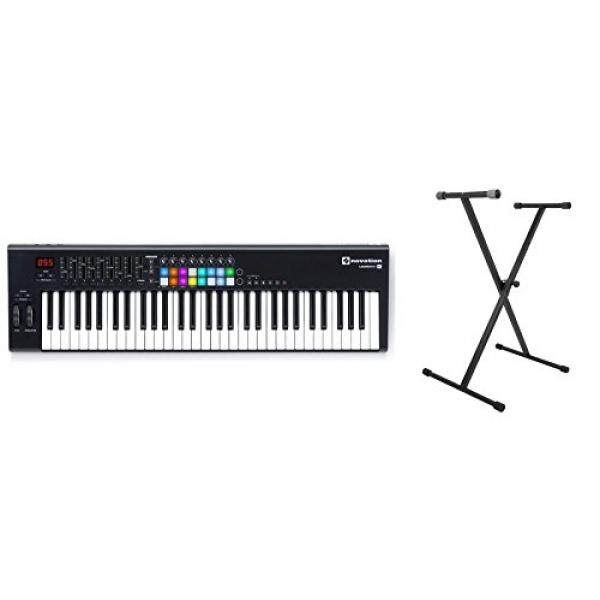 Novation Launchkey 61 MK2 w/ On-Stage Keyboard Stand Bundle / From USA