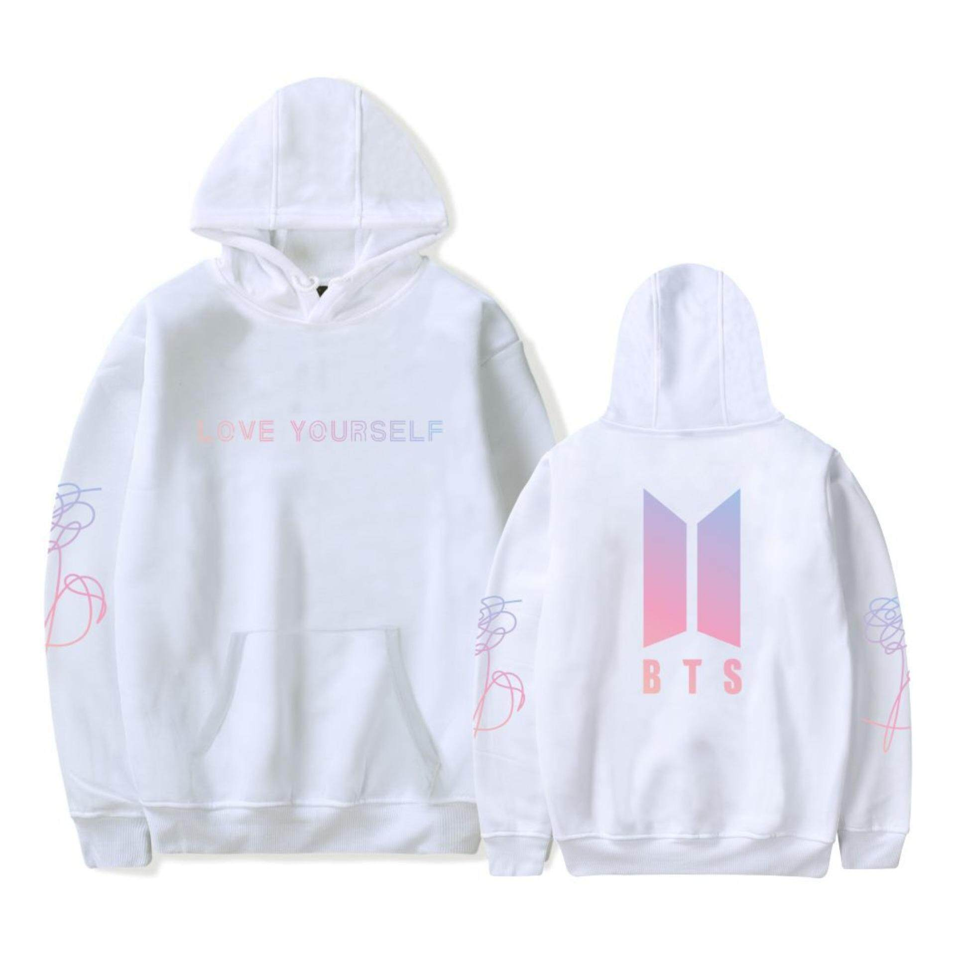 Philippines. BTS HOODIES Korea BTS Hoodie Men Women Love Yourself Blouse  Ready Stock Coat 2a0c3ad80