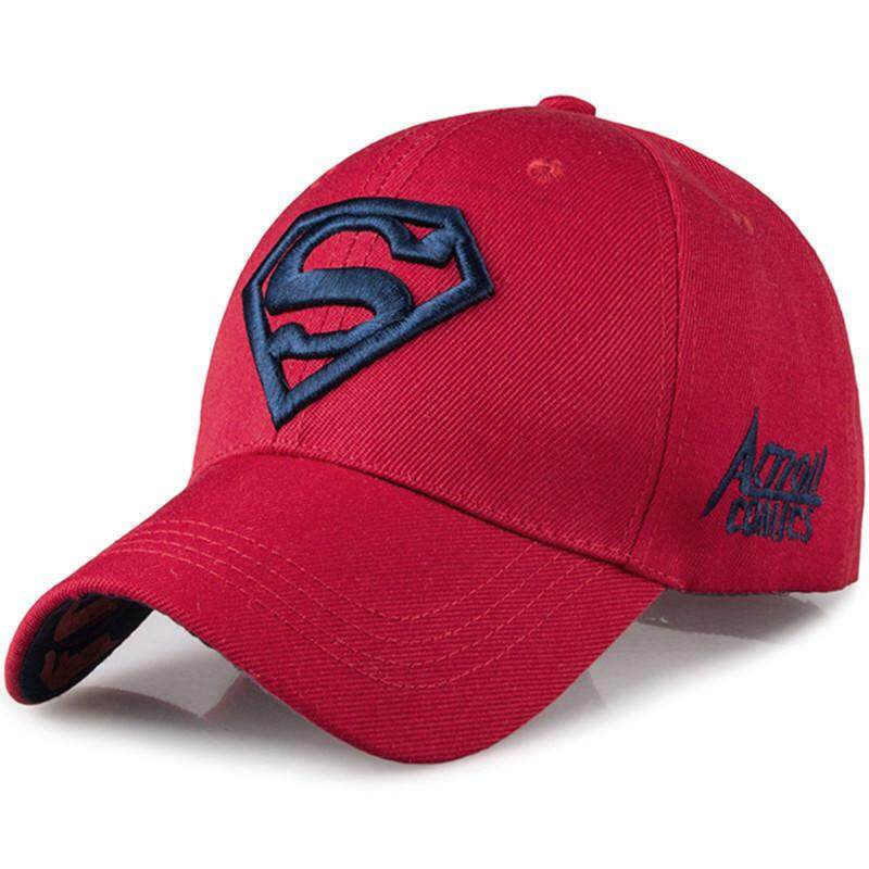 Men s Fashion Superman Baseball Cap Outdoor Sunscreen Cap Wild Leisure  Visor Hat ce9dba86b25b