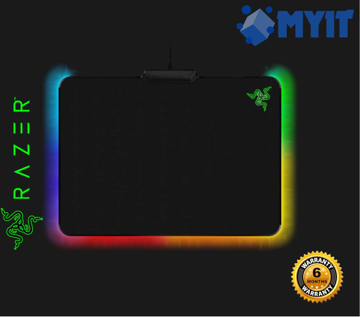 Razer Original Firefly Cloth Surface Edition Gaming Mouse Pad with Chroma RGB Lighting (Size : 355 x 255 x 3.5 mm)
