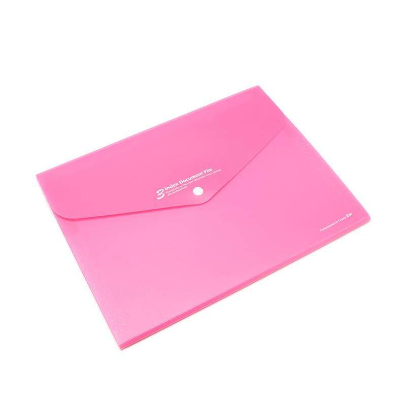 Mua Waterproof Book A4 Paper File Folder Bag Accordion Style Design Document Rectangle Office Home School 4 Color - intl