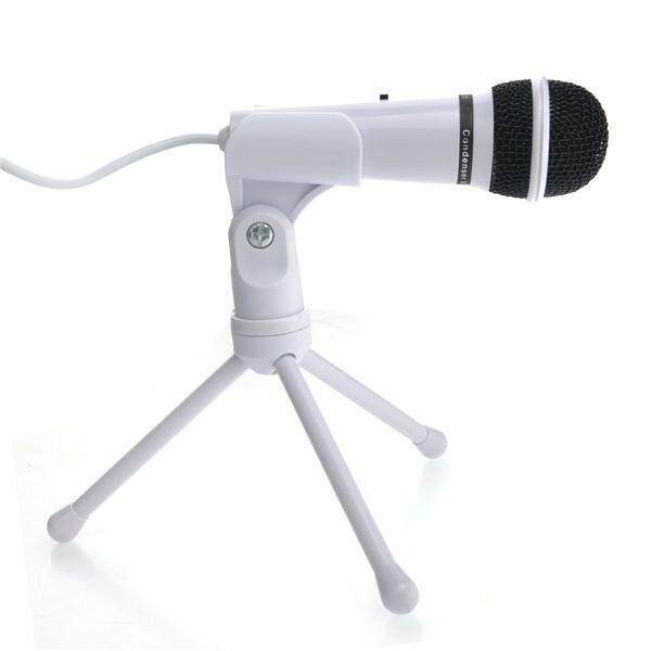 Rp 125.000. SF-910 Portable 3.5 Mm Kondensator Stereo MIC Perekam dengan Mini Stand Tripod untuk ...