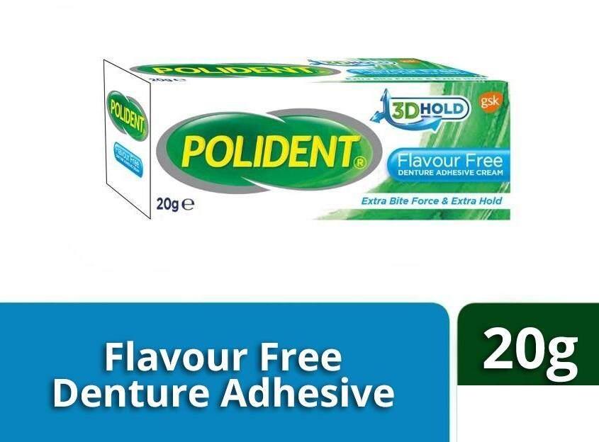 Polident Denture Adhesive Cream (20g) Flavour Free